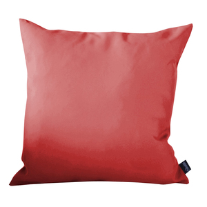 Coussin polyester rouge 40x40 cm