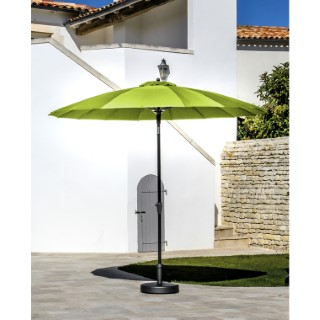 Parasol PAGODE à manivelle Ø3 m lemon