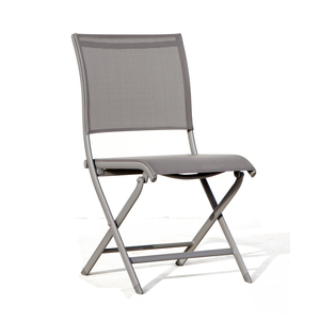 Chaise pliante ELEGANCE taupe