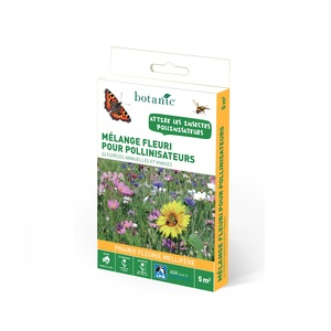 Mélange fleuri pour pollinisateurs