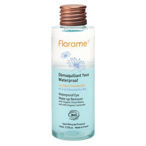 Démaquillant pour yeux waterproof bio en flacon de 110 ml 260529