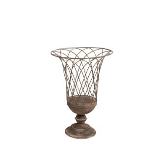 Vase flora médicis métal