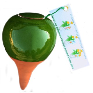 OYAS à planter émaillée verte