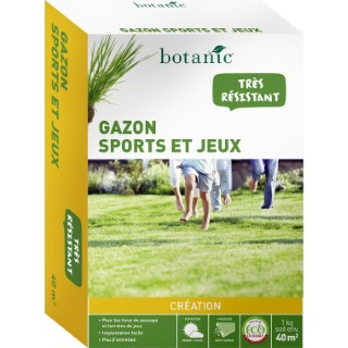 Gazon Sports et Jeux Label Éco-durable 1 kg