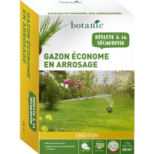 Gazon économe en arrosage Label Éco-durable 1 kg