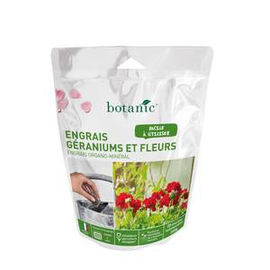 Engrais géraniums et fleurs en doses 20x10g