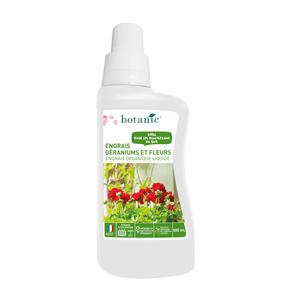 Engrais géraniums et fleurs liquide 500ml
