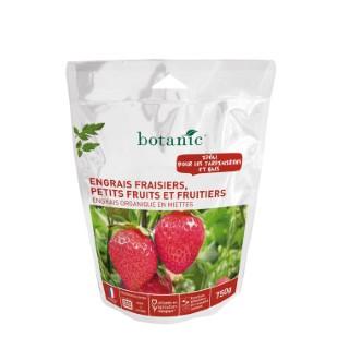 Engrais fraisiers, petits fruits, fruitiers