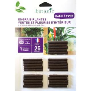 Engrais pl. vertes et fleuries intérieur bâtonnet