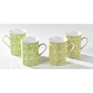 Coffret 4 mugs Chlorophylle