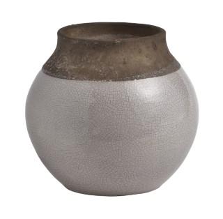 vase tcuite relief glacé