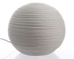 lampe table porcelaine ronde