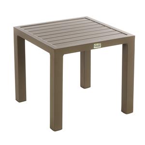 Table basse de jardin café en aluminium LOU