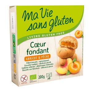Cœur fondant abricot-pêche 200 g MA VIE SANS GLUTEN
