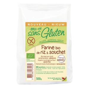 Farine bio de riz et souchet 500 g MA VIE SANS GLUTEN