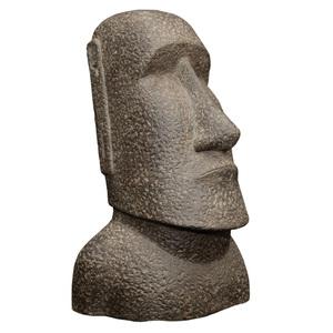 Statue de jardin Moai H 30 cm 263286