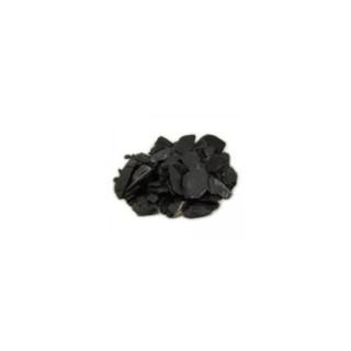 Paillettes d'ardoise noire 10/50 en sac de 25 kg