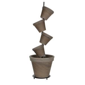 Kit 5 pots DAISY basalt D.23 x H.96 cm 5,1 litres