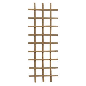 Treillis en osier épais pelé rectangle 120x45 cm