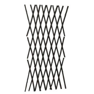 Treillis extensible en osier épais 120x180 cm