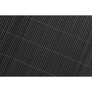 Canisse LOP osier, anthracite – Rouleau 1,5x3 m