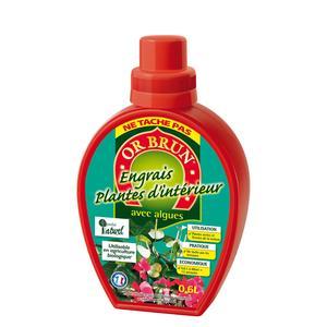 Engrais liquide plantes d'intérieur 0,6 L
