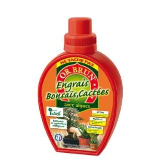 Engrais liquide bonsaïs et cactées 0,6 L