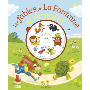 Les Fables de la Fontaine à Écouter avec CD Écoute et Rêve 5 ans Éditions Lito 265627