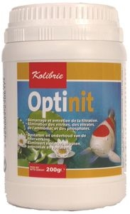 Démarrage et entretien de la filtration bassin Optinit