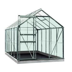 Serre verre 6,2 m² en aluminium 275336