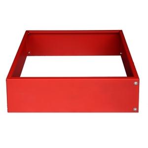 Potager urbain Carré rouge 60 x 60 cm