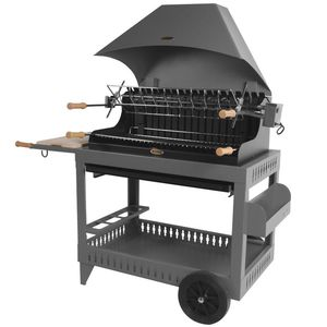 Barbecue Irissary avec sa hotte anthracite