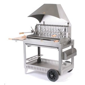 Barbecue Irissary avec hotte en inox
