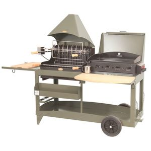 Plancha / Barbecue mixte Mendy Alde taupe