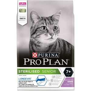 Croquettes pour chat stérilisé adulte +7 an – sac de 3 kg 275815