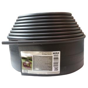 Bordures Smart Profile polyéthylène 100% recyclé Noir Rouleau de 6 mètres
