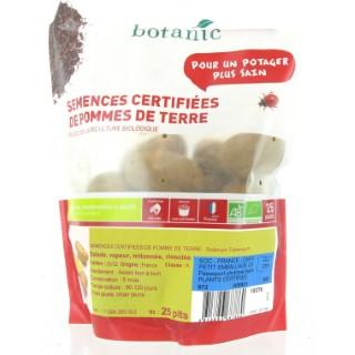 Pommes de terre Dolreine bio calibre 0001, 25 plants