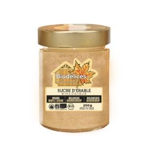 Sucre fin d'érable - 250 gr