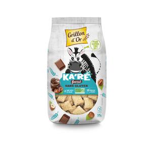 Ka'ré fourré chocolat et noisettes sans gluten bio 375 g 279337