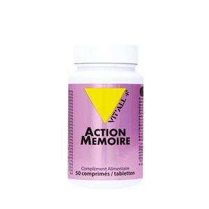 Action mémoire vit'all + en format de 50 comprimés 279651