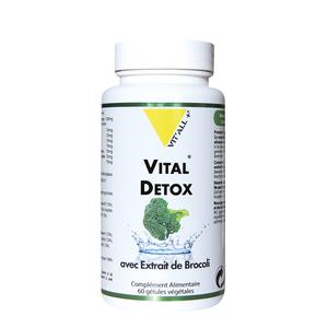 Vital detox vit'all + en format de 60 gélules 279676
