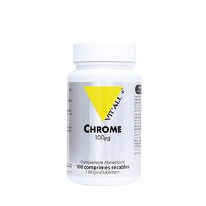 Chrome vit'all + en format de 100 comprimés 279682
