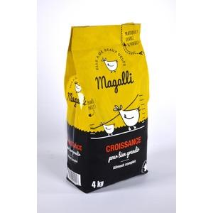 Aliment complet de croissance pour volaille en sac jaune de 4 kg 279777