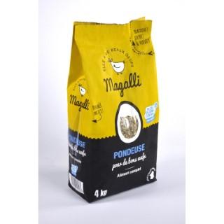 Aliment complet poule pondeuse Magalli 4 kg 279779