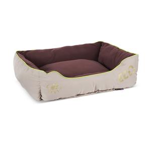 Corbeille pour chien en fibre recyclée marron 75 x 60 cm 280258