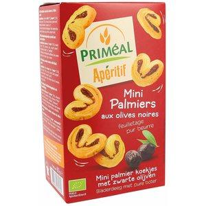 Mini palmiers aux olives noires 60 g PRIMEAL 280279