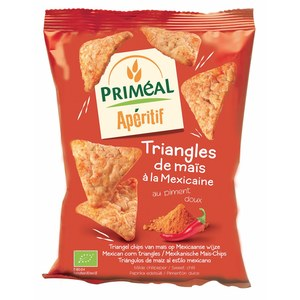 Triangles de maïs à la mexicaine 50 g PRIMEAL 280282