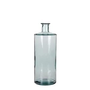 Vase bouteille Guan en verre transparent Ø 15 x H 40 cm 280467