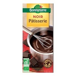 Chocolat noir patisserie 60% cacao 200 g BONNETERRE
