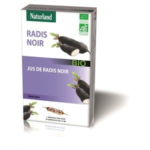 Radis noir pur jus Bio Naturland